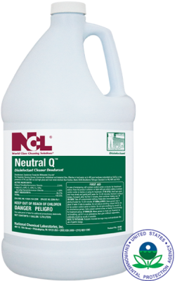 NCL Neutral Q Disinfectant Cleaner Deodorant   55 gal