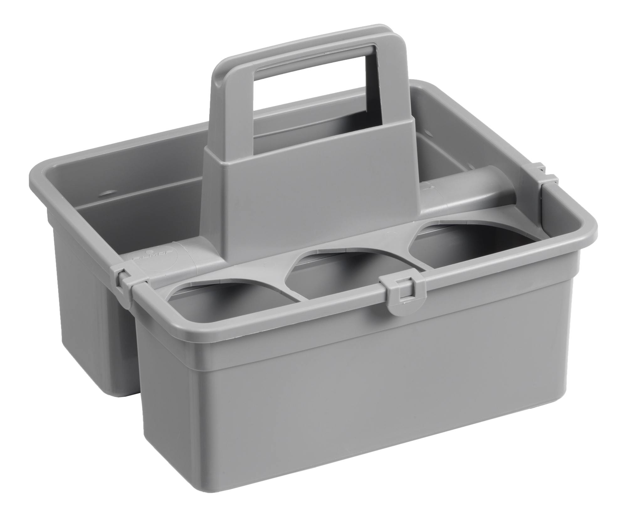 CARRY CADDY 2 SECTION GREY