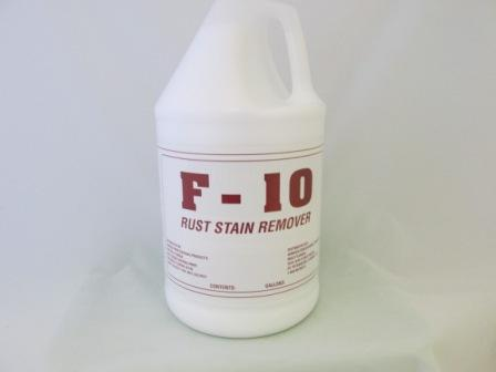Cypress F 10 Iron Stain Remover  4/1 gal