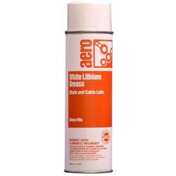 Aero Chain & Cable Lube w/White Lithium Grease 12/14 oz