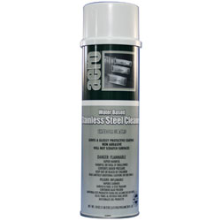 Aero Water-Based Stainless Steel Clnr  12/ 18 oz