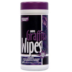 Aero Graffiti Wipes  6/40 ct