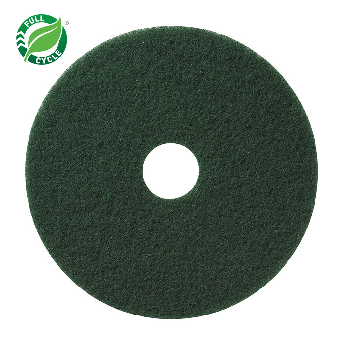 17in GREEN SCRUB PADS 5/CS