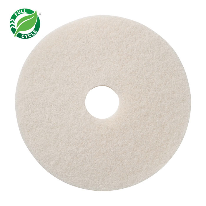 14in WHITE POLISHING PADS 5/CS