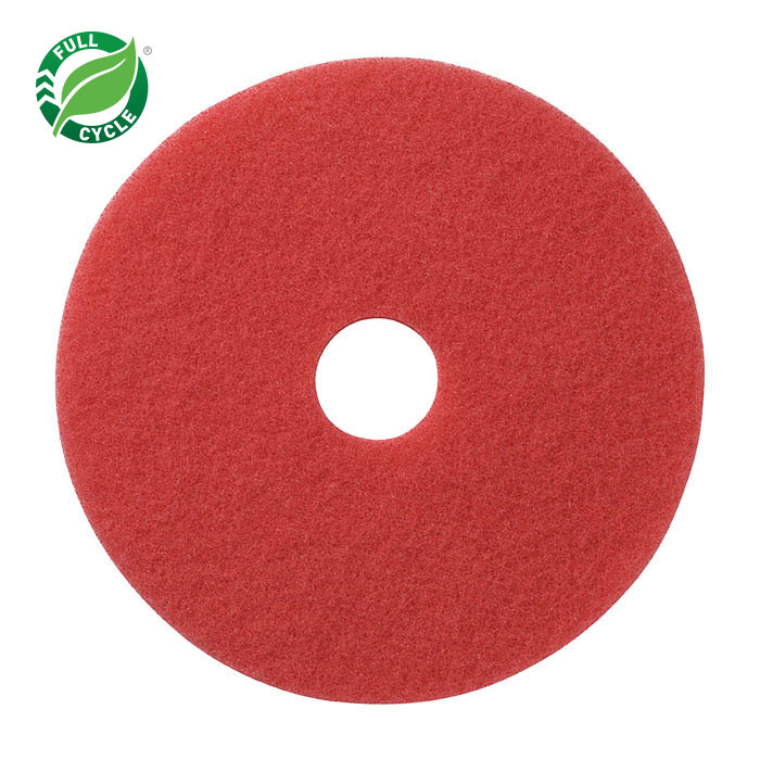 13in RED BUFFING PADS 5/CS