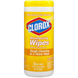 Clorox Disinfecting Wipes Lemon Fresh  12/35 ct