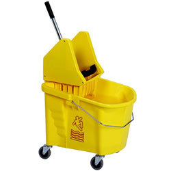 Continental Splash Guard 35 Qt. Combo Pack - Yellow  ea