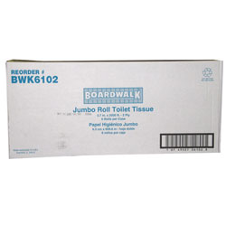 Boardwalk Jumbo 2 Ply Toilet Tissue  6/1 cs