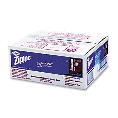 Ziploc Gallon Bags 1.75MIL 250/1 cs