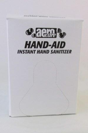 Aero Hand-Aid Alcohol Hand Sanitizer  12/ 800 ml