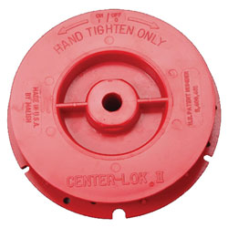 Malish Center-Lok  II Pad Centering Device - Red