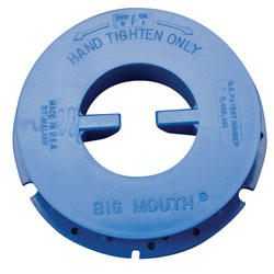 Malish Big-Mouth Pad Centering Device - Blue, T
