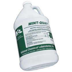 NCLMint Quat Disinfectant Cleaner  4/1 gal