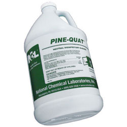 NCL Pine Quat Neutral Disinfectant Cleaner  4/1 gal
