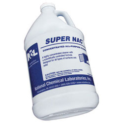 NCL  Super Nac Concentrated All Purpose Cleaner 4/1 gal