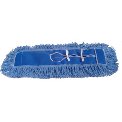 O'Dell Looped-End Dust Mop Refill - 24in., Blue  ea