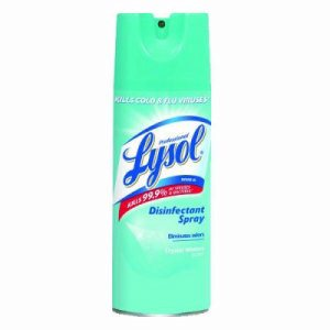 Lysol Disinfectant Crystal Water 12/12.5 oz