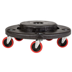 Rubbermaid BRUTE Quiet Dolly For 2620, 2632,  ea