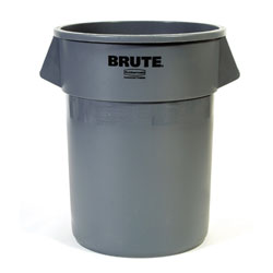 Rubbermaid BRUTE Round Container - 55 Gal.,  ea