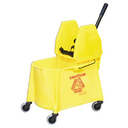 Rubbermaid Mopping Combo - 6118-88/7575, Yellow  ea