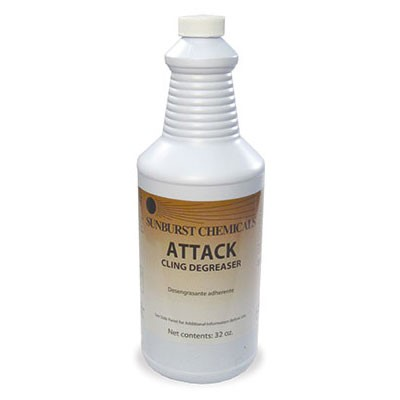 ATTACK CLING DEGREASER 4X32OZ
