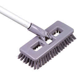 Tolco Valu-Swivel 8in. Deck Brush w/Handle ea