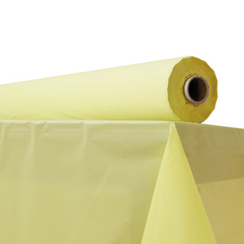 Table Cover Yellow 300 ft roll