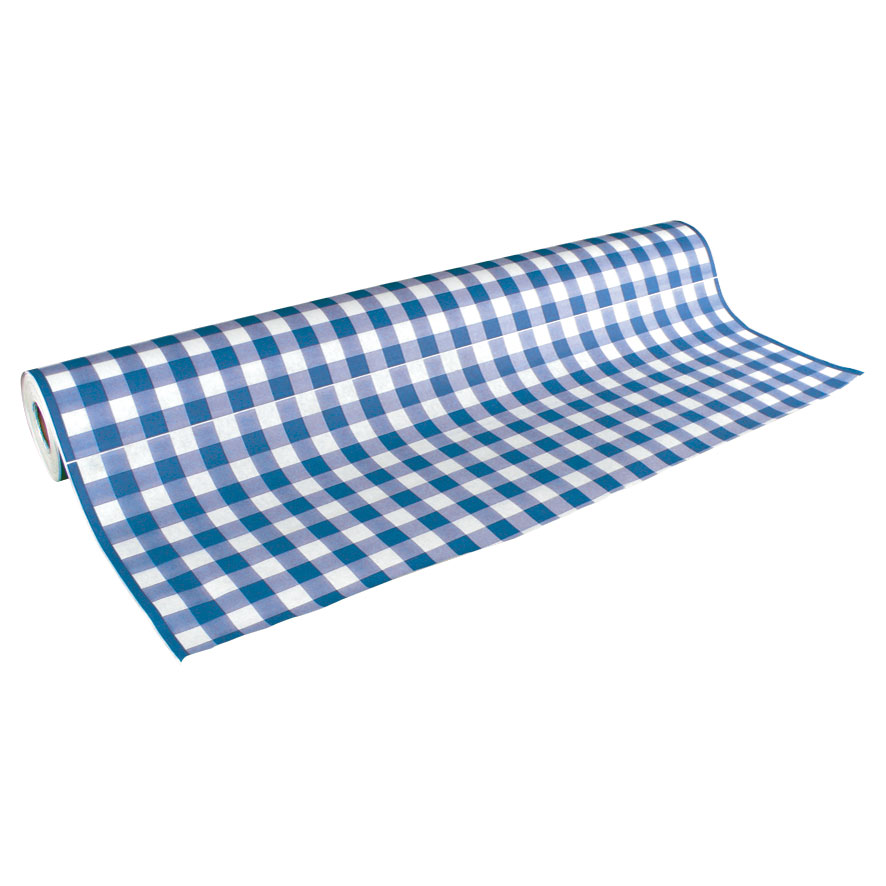 Table Cover Blue 300 ft roll