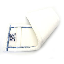 18in White Pad Pocket ea