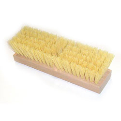 Deck Brush 10in. Crimper Poly ea