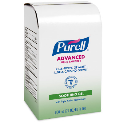 PURELL IHS W/ALOE 12/800ML