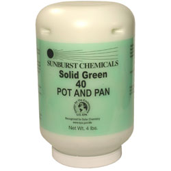 Solid Green 40 Pot and Pan Cleaner 1/4 lb