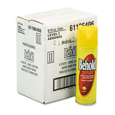 Behold Furniture Polish 6/16OZ