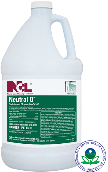 NCL Neutral Q Disinfectant Cleaner Deodorant  4/1 gal