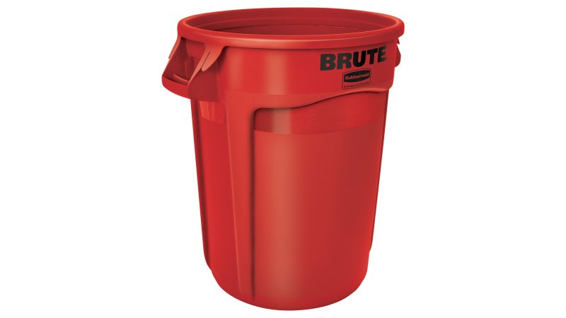 32 GAL BRUTE CONTAINER RED