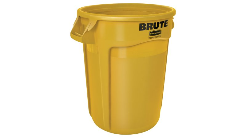 32 GAL BRUTE CONTAINER YELLOW