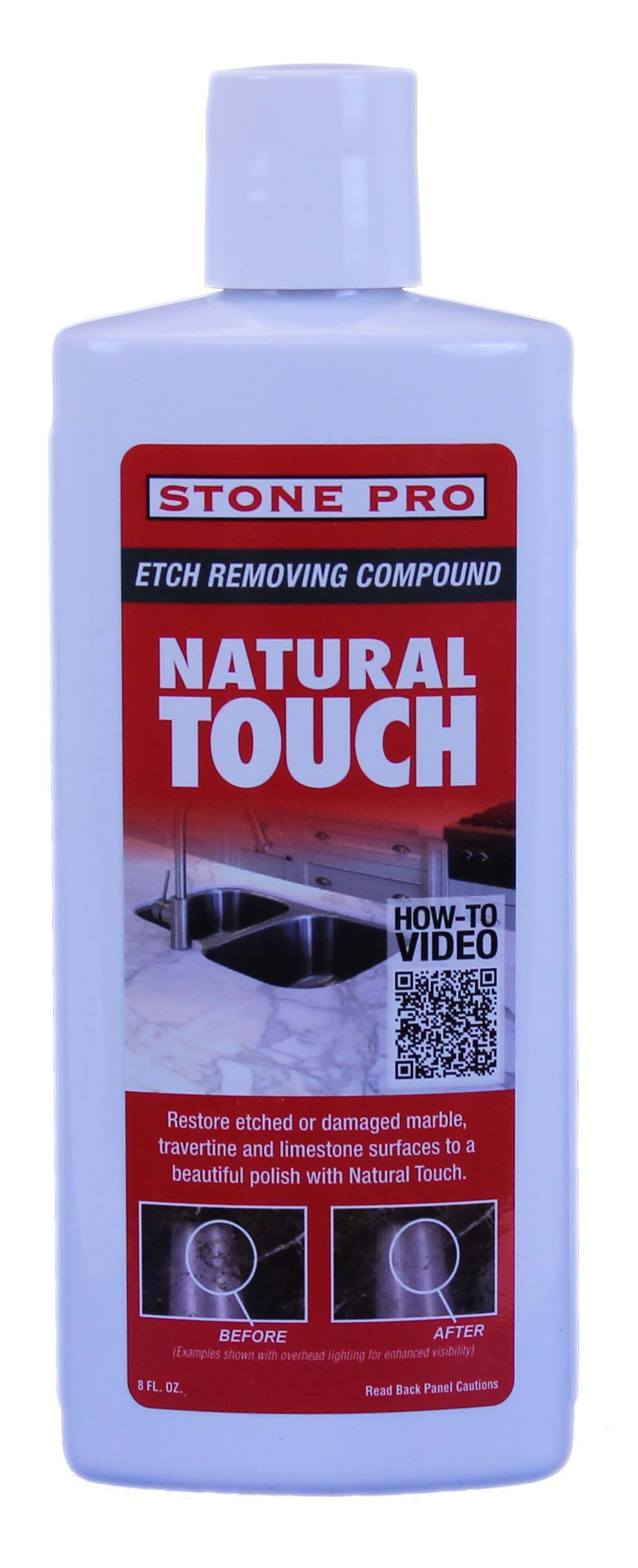 NATURAL TOUCH 8OZ 6/CS
