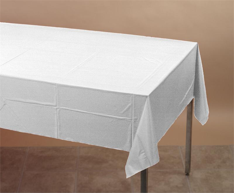 Table Cover White 54X108   12/1 cs